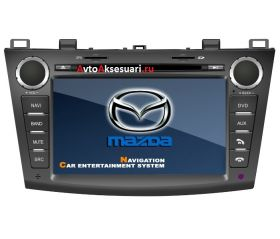 Штатная магнитола для Mazda 3 - 2009-12 г.