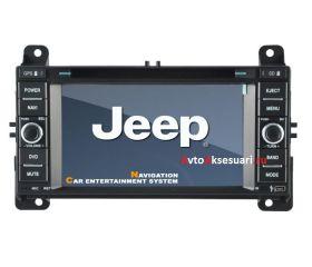 Штатная магнитола для Jeep Grand Cherokee 2012