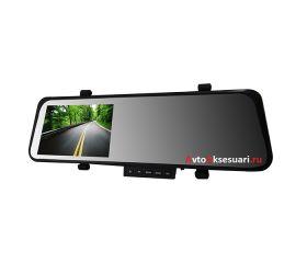 Зеркало с видеорегистратором 2 камеры Full HD
