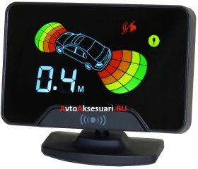 Парктроник передний/задний AAALINE LCD-18